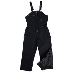 BLACK DLX INSULATED BIB OVERALL