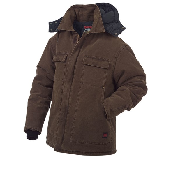 WASHED POLYFILL PARKA