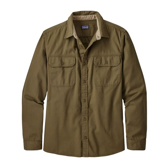 M's L/S Four Canyons Twill Shirt